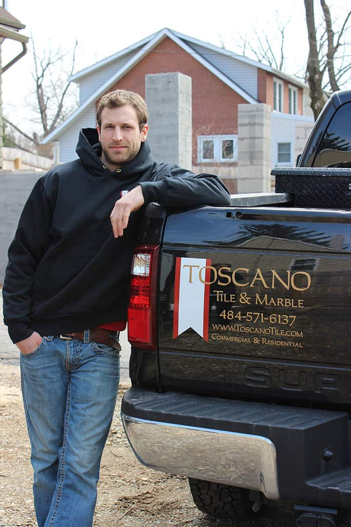 Owner of Toscano Tile and Marble